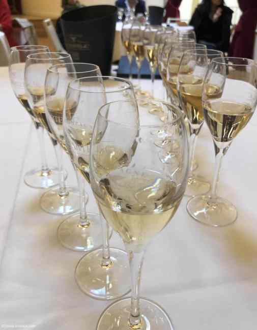 G.H Martel Champagne verres