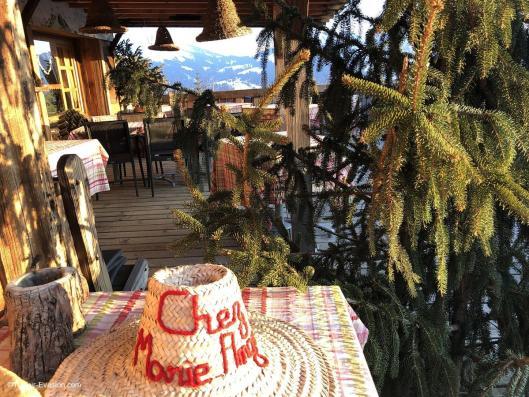 Chalets Hôtel la Croix Fry - La Table de Marie-Ange
