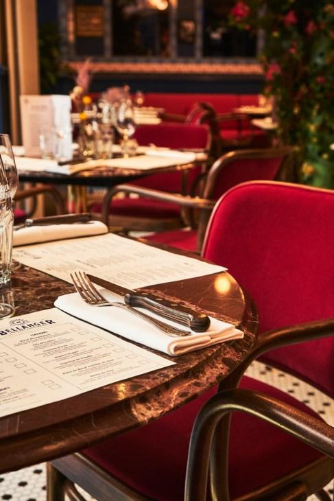 Brasserie Bellanger - table