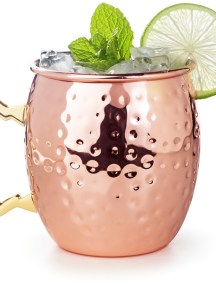 Moscow Mule Bottoms Up