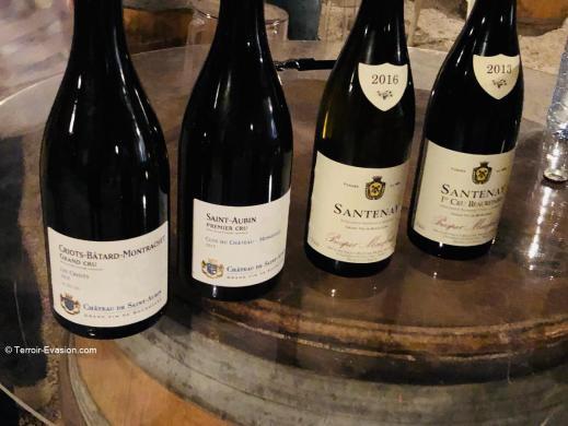 Veuve Ambal - Gamme vins Prosper Maufoux et Château Saint Aubin