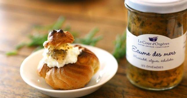 Crémant de Bourgogne Cave Macon-Les-Charnay-recette chou-apero-haddock-salicorne
