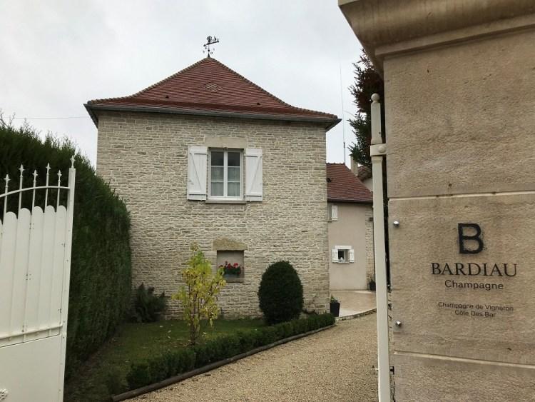 Champagne Bardiau - Entrée Domaine