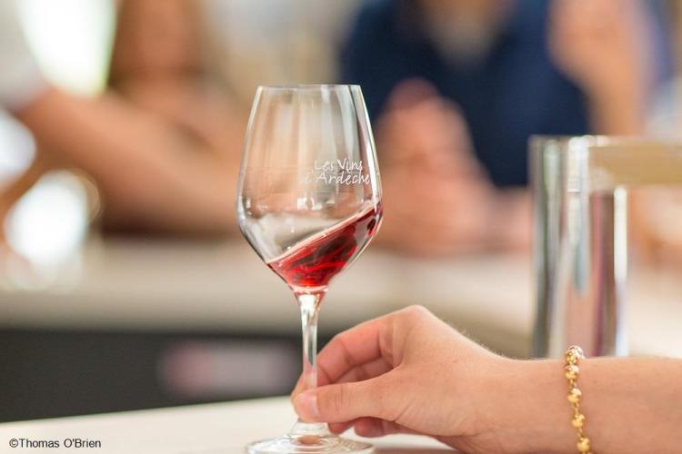 Les vins d'Ardèche