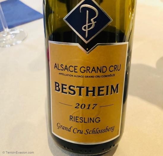 Bestheim à Bennwihr - Grand Cru Schlossberg 2017