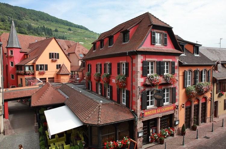 Le Chambard à Kaysersberg Restaurant Hôtel Winstub Bar
