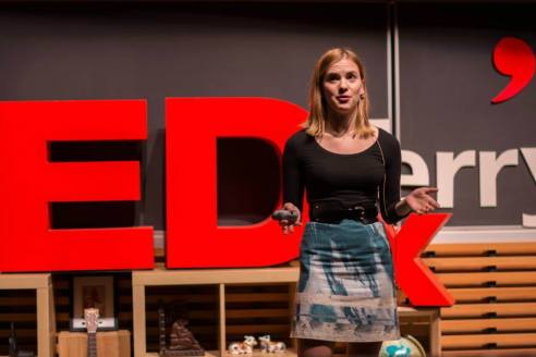 Ekateryna Nova at TEDx Terry Talks 2014 | Photo by Sruthi Sreedhar