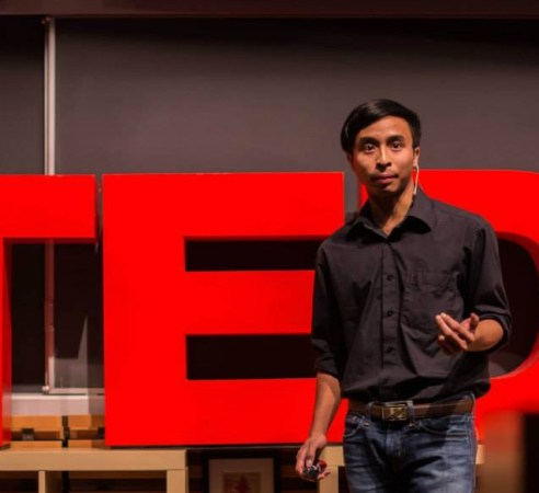 Viet Vu at TEDx Terry Talks 2014 | Photo by Sruthi Sreedhar