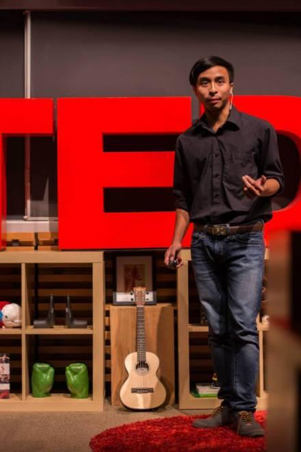 Viet Vu at TEDx Terry Talks 2014 | Photo by Sruthi Sreedhar