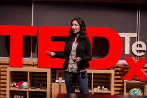 Swinzle Chauhan at TEDx Terry Talks 2014 | Photo by Sruthi Sreedhar