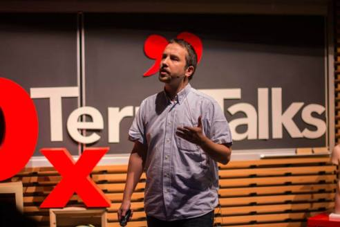 Serbulent Turan at TEDx Terry Talks 2014 | Photo by Sruthi Sreedhar
