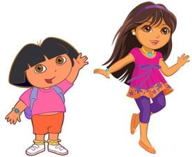 Dora the Explorer - Versions I and II