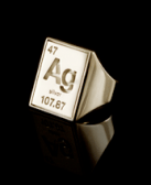 sillver element ring