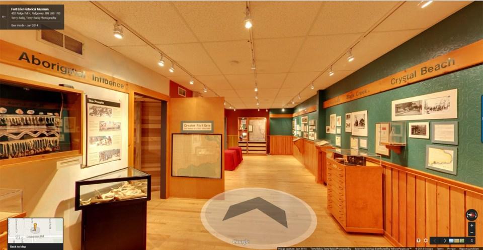 Fort Erie Historical Museum Exhibit