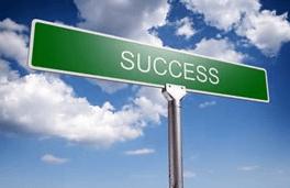 Proper goal setting can bring success.