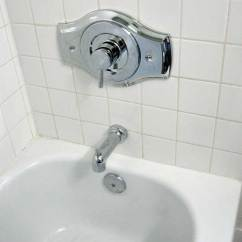 Price Pfister Kitchen Faucet Parts Classic Sink Replacing A Three Handle Tub Shower With Moen Posi ...