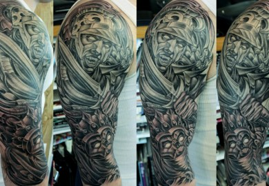 Four Horsemen Tattoo Designs
