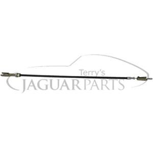 Terrys Jaguar Parts: CABLE BATTERY, NEGATIVE XKE 6Cyl