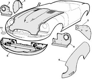 Mysterious Beauty: 1966 Jaguar E-Type