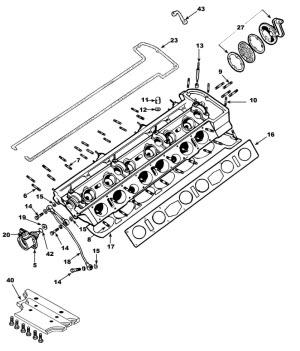 Cylinder Head: Terrys Jaguar Parts