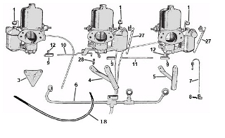 Carburetor Linkage: Terrys Jaguar Parts