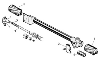 Steering Rack and Pinion: Terrys Jaguar Parts