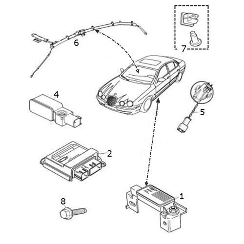 Air Bag Sensors: Terrys Jaguar Parts