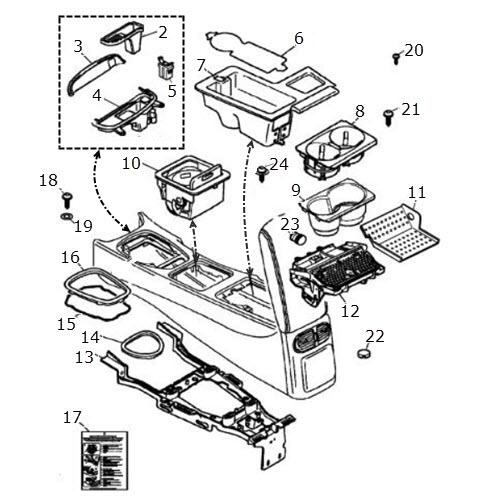 Center Console Components: Terrys Jaguar Parts