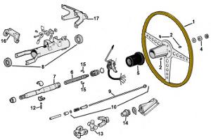 Steering Column: Terrys Jaguar Parts