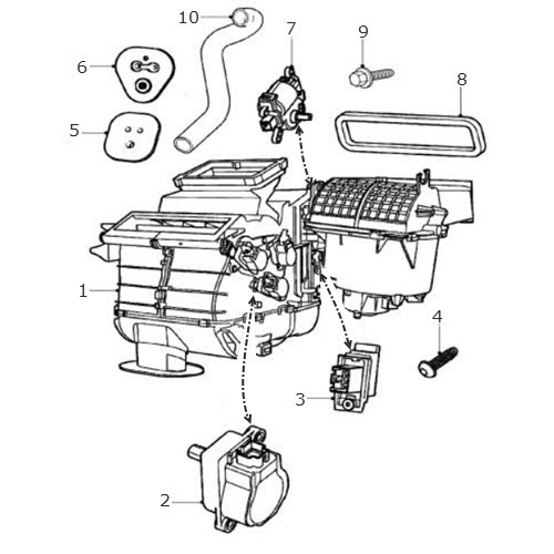 Air Conditioning and Heater Unit: Terrys Jaguar Parts