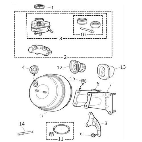 Brake Servo and Master Cylinder: Terrys Jaguar Parts