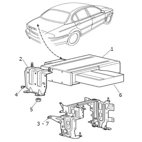 Compact Disc Autochanger: Terrys Jaguar Parts