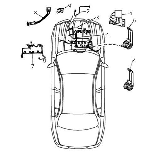 Engine Harnesses: Terrys Jaguar Parts