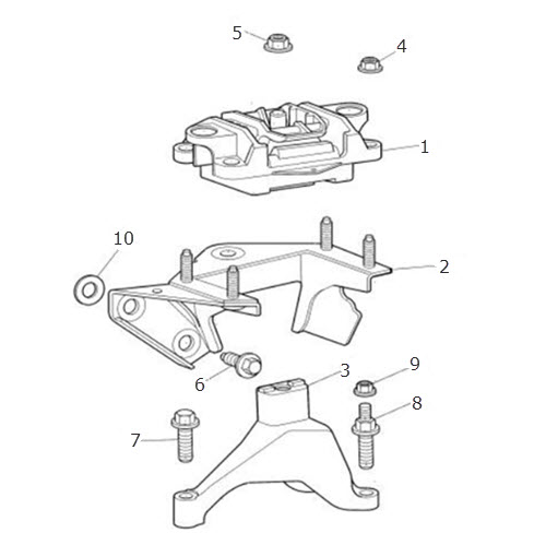 Gearbox Mounting Manual: Terrys Jaguar Parts