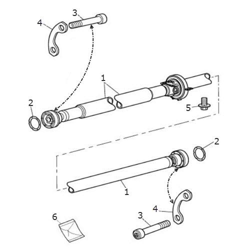 Propshaft Assembly: Terrys Jaguar Parts