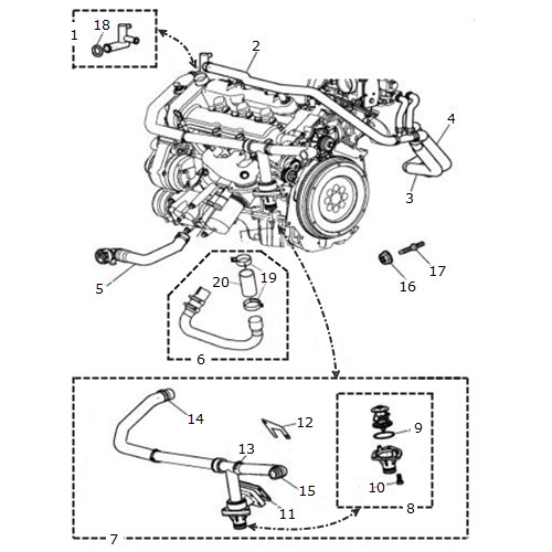 Jaguar S Type Radiator Hoses Diagram Html
