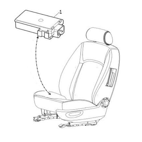 Seat-Control-Module: Terrys Jaguar Parts