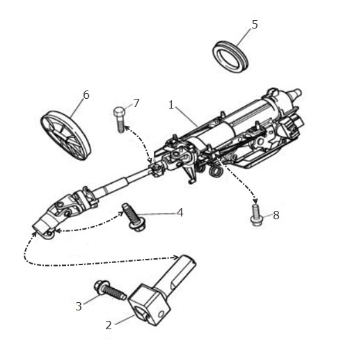 Steering Column Upper: Terrys Jaguar Parts