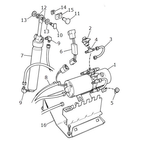 Hood Lift Mechanism-Convertible: Terrys Jaguar Parts