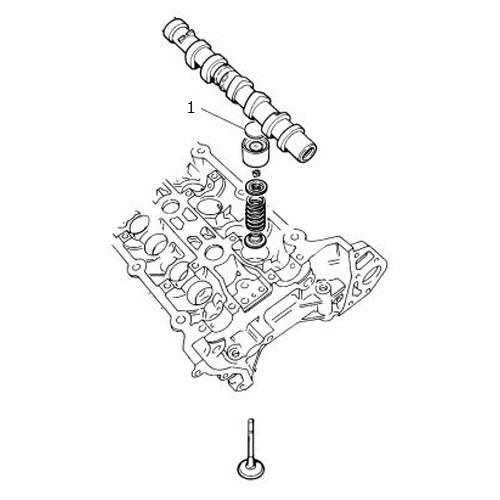 Tappet Adjustment Shim 4.0 Liter V8: Terrys Jaguar Parts