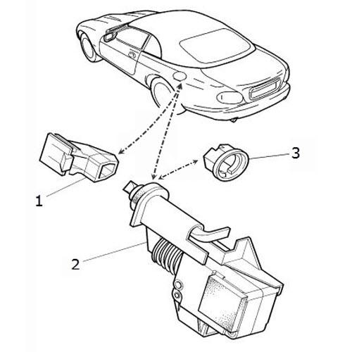 Filler Latch and Mechanism: Terrys Jaguar Parts