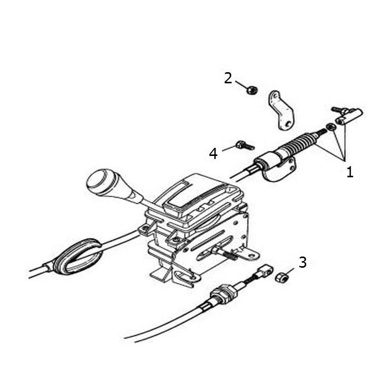 Gear Change Control Cable: Terrys Jaguar Parts