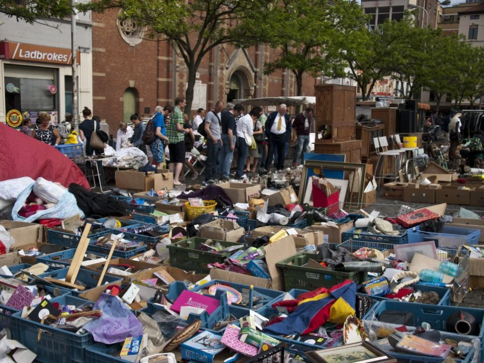 Bruxelles - Flea Market