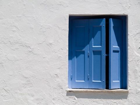 Greece - Sporades - Window