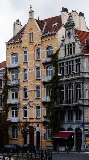 Belgium - Brussels - Apartment house