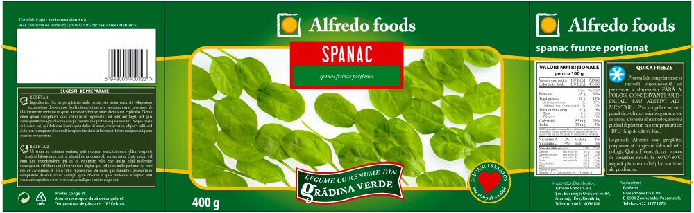 Alfredo - Spinach