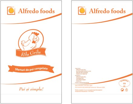 Alfredo - low end products packaging