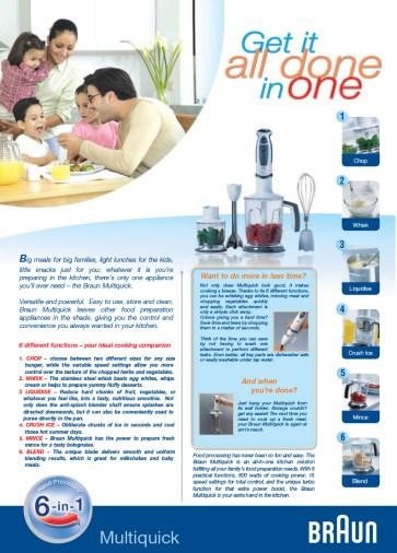 Braun - Multiquick Family advertorial