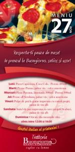 Buongiorno - table stand-up