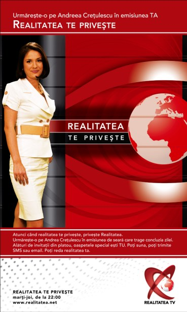 RTV - Realitatea te priveste - press ad